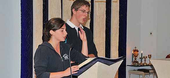 La pratique régulière de la prière à l'École de Vie Don Bosco
